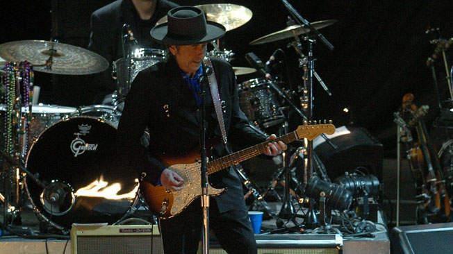 Una fotografía del concierto que Bob Dylan ofreció en el Orfeo en marzo de 2008 (archivo).
