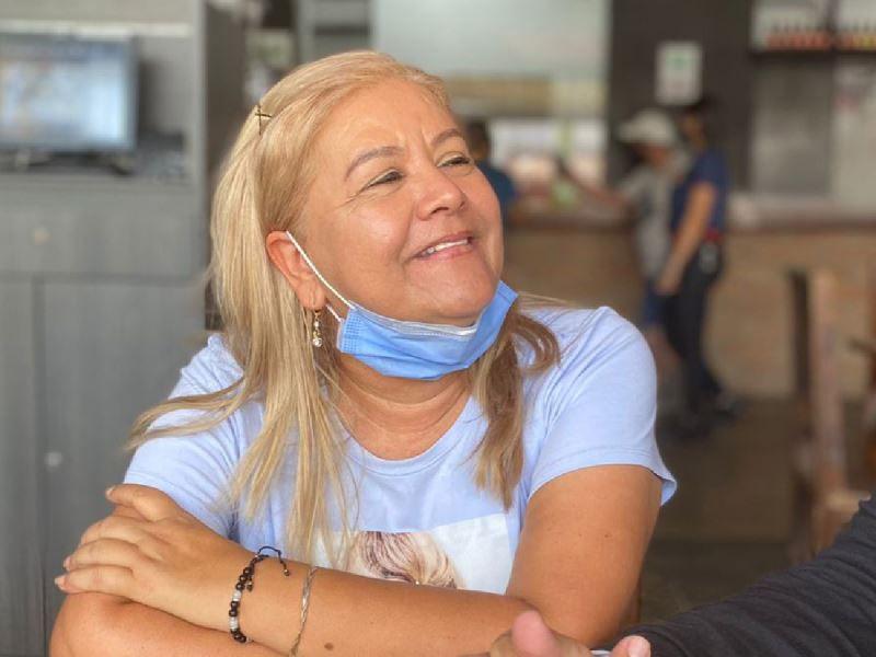 Colombia. Martha Lidia Sepúlveda tiene 51 años.